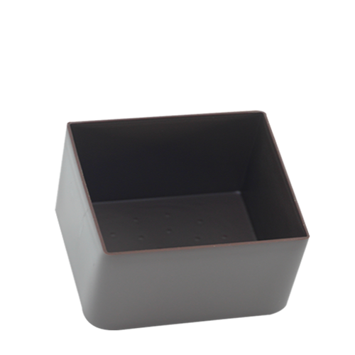 Coupelle cube noir