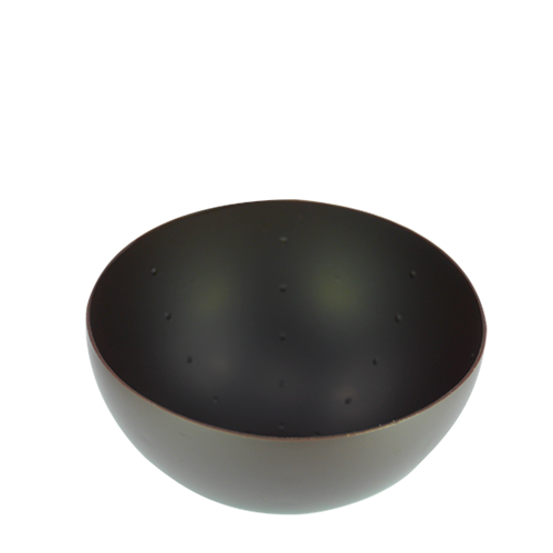 Coupelle sphere noir